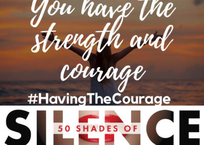 Having the Courage