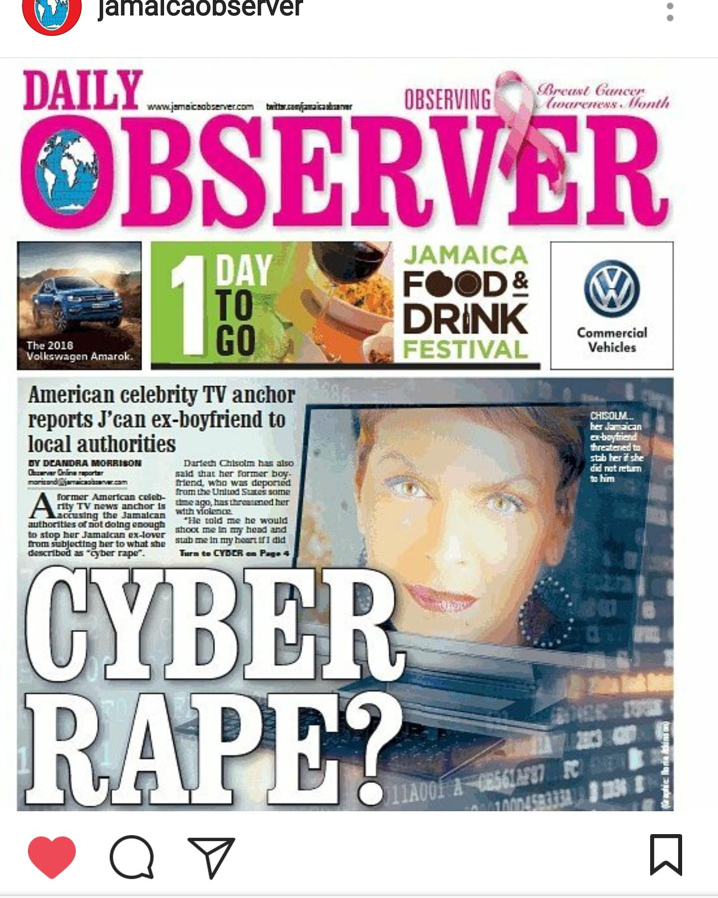 Cyber rape?