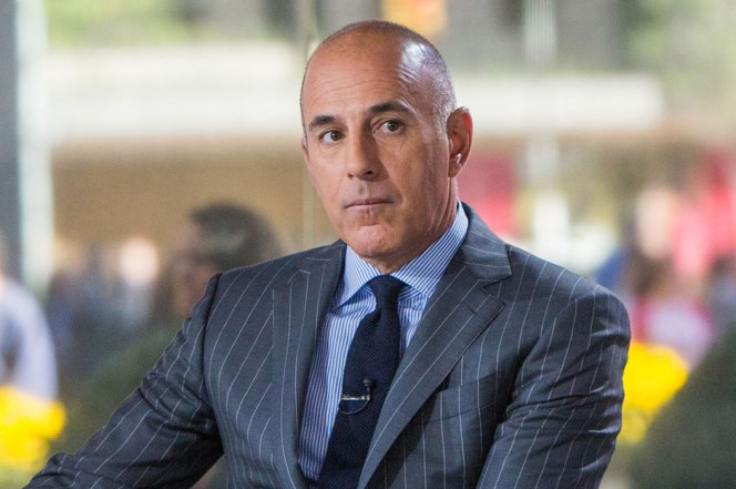 Matt Lauer accused of sexting NBC intern and staffers